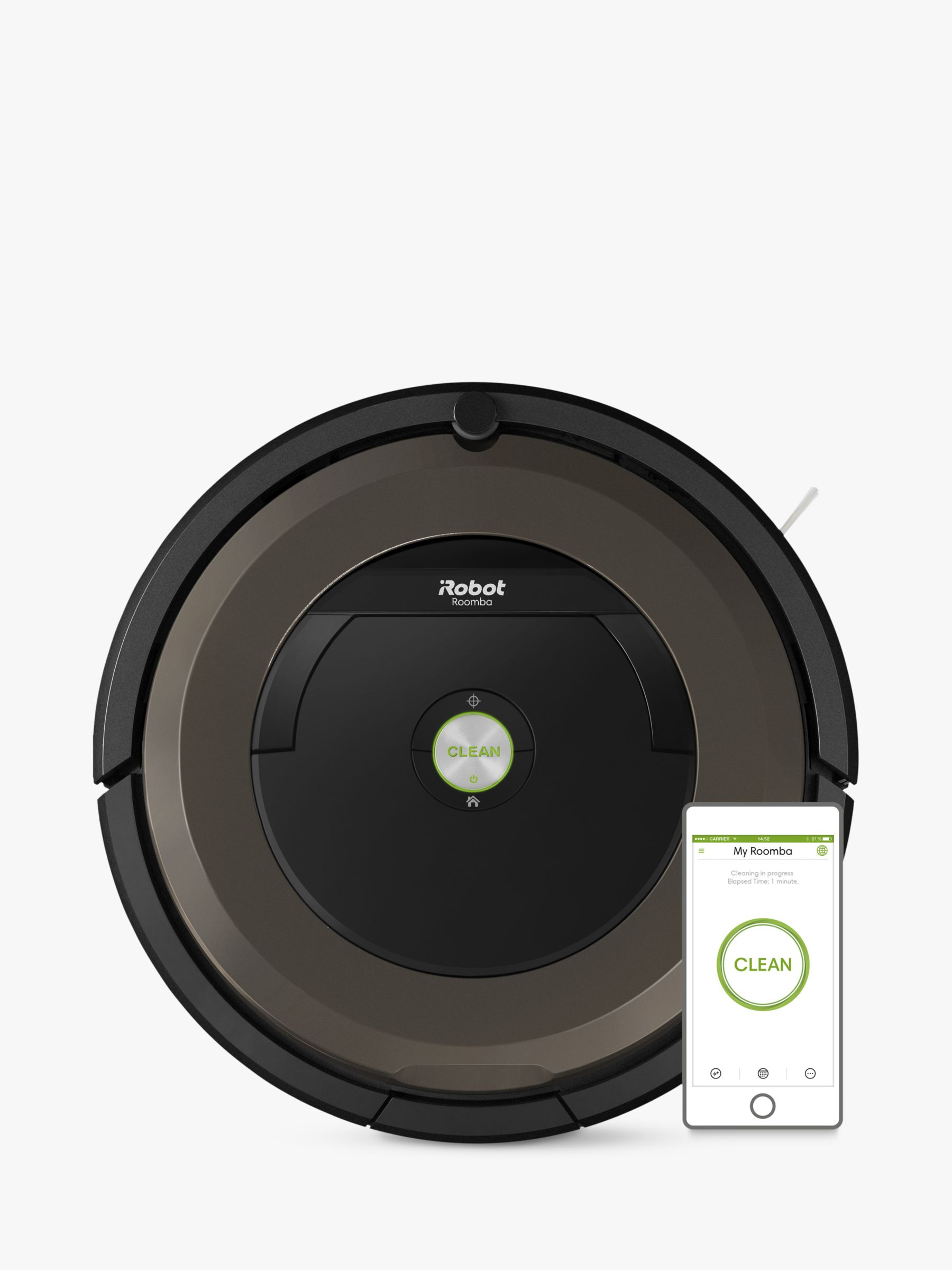 baby chair roomba office posture support irobot 896 robot vacuum cleaner black brown at