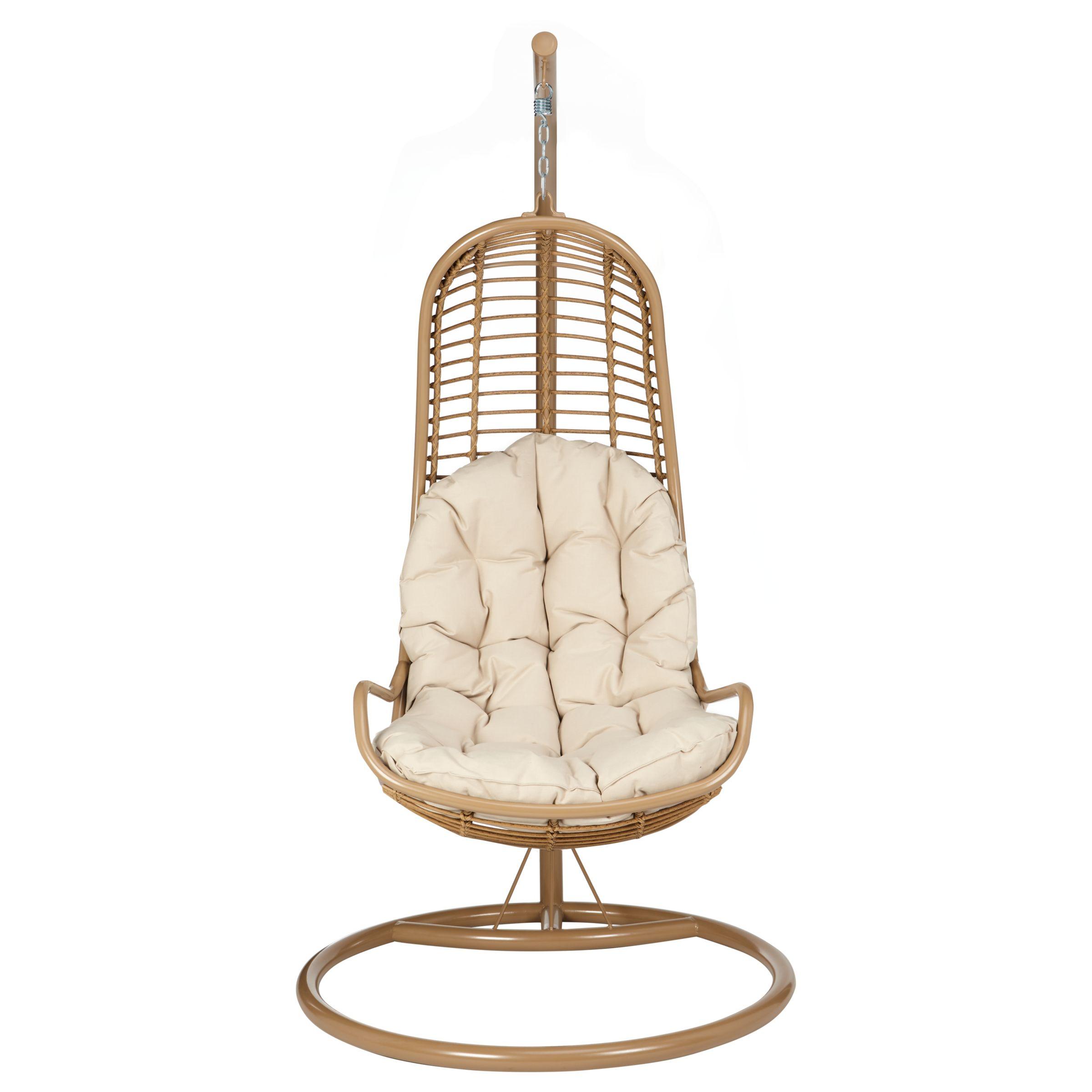 hanging chair range veranda john lewis cabana pod garden at