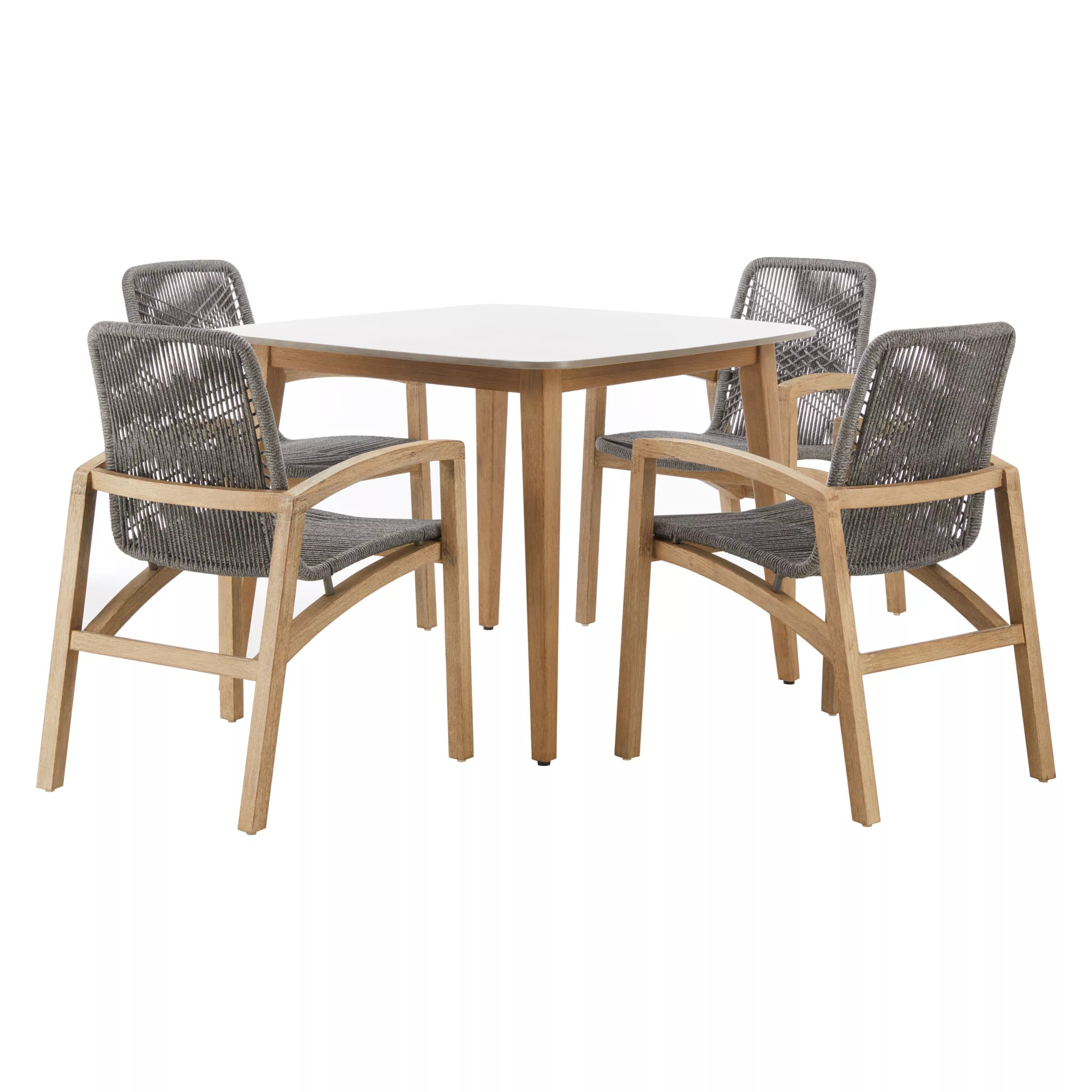 4 seater table and chairs walmart wicker john lewis leia square garden