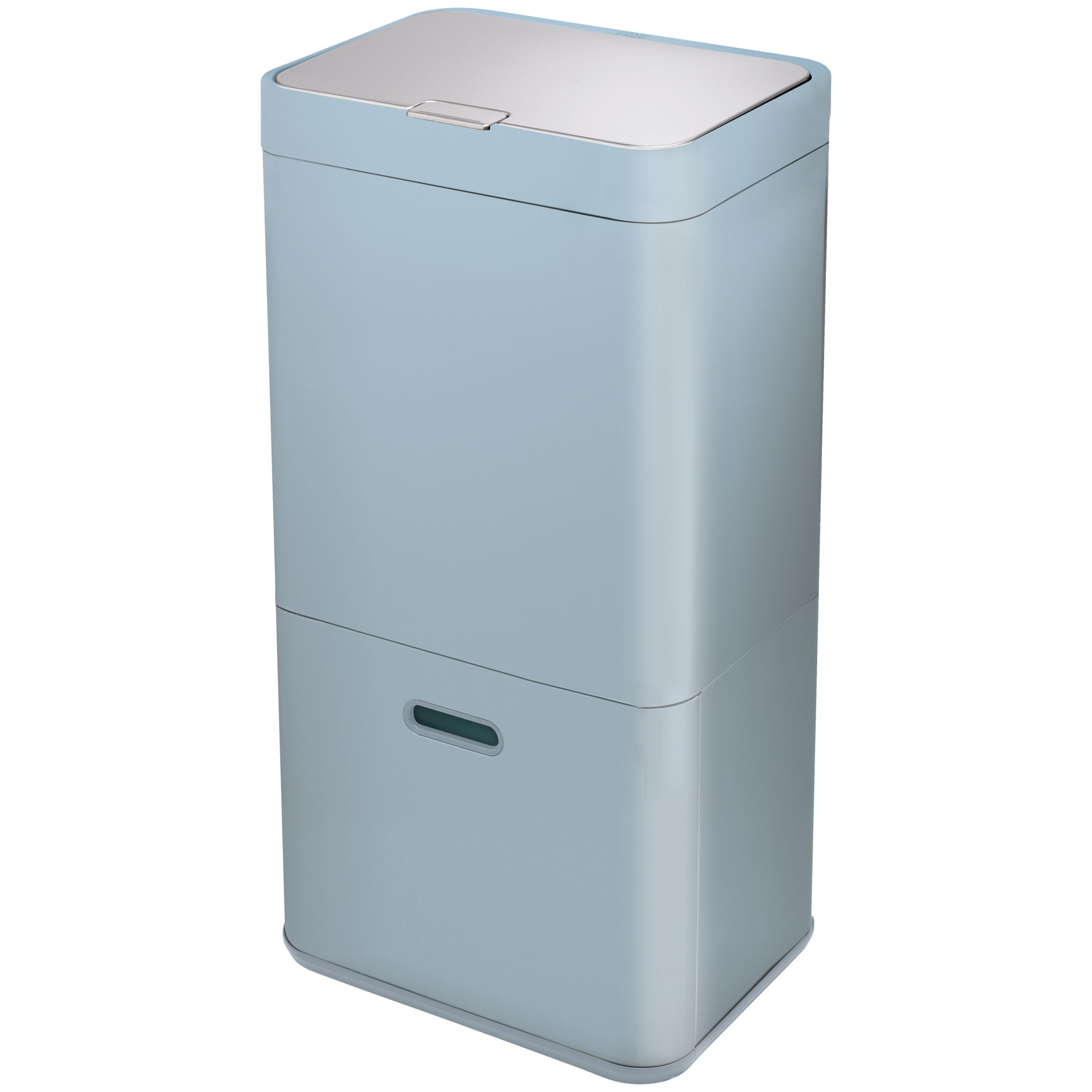 tall kitchen bin chairs on casters joseph john lewis partners intelligent waste separation recycling totem 60l