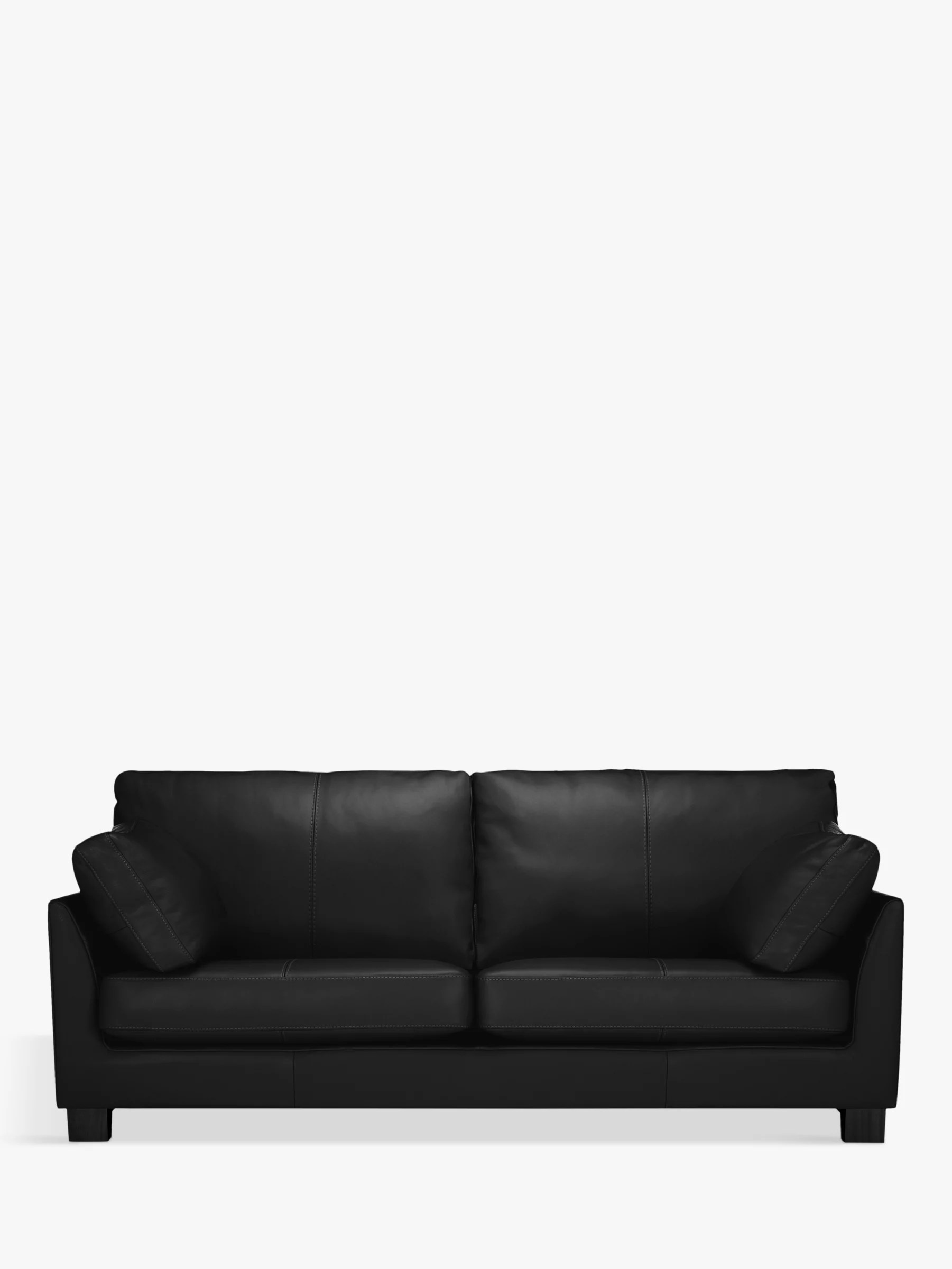 drummond grand leather sofa cream corduroy burlington thomas