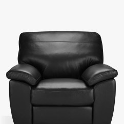 Dark Brown Leather Chair Fabric Garden Chairs Uk Armchairs Furniture John Lewis Partners Camden Recliner Armchair Leg