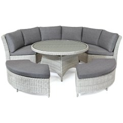 8 Seater Round Dining Table And Chairs Recliner Uk Kettler Palma Garden