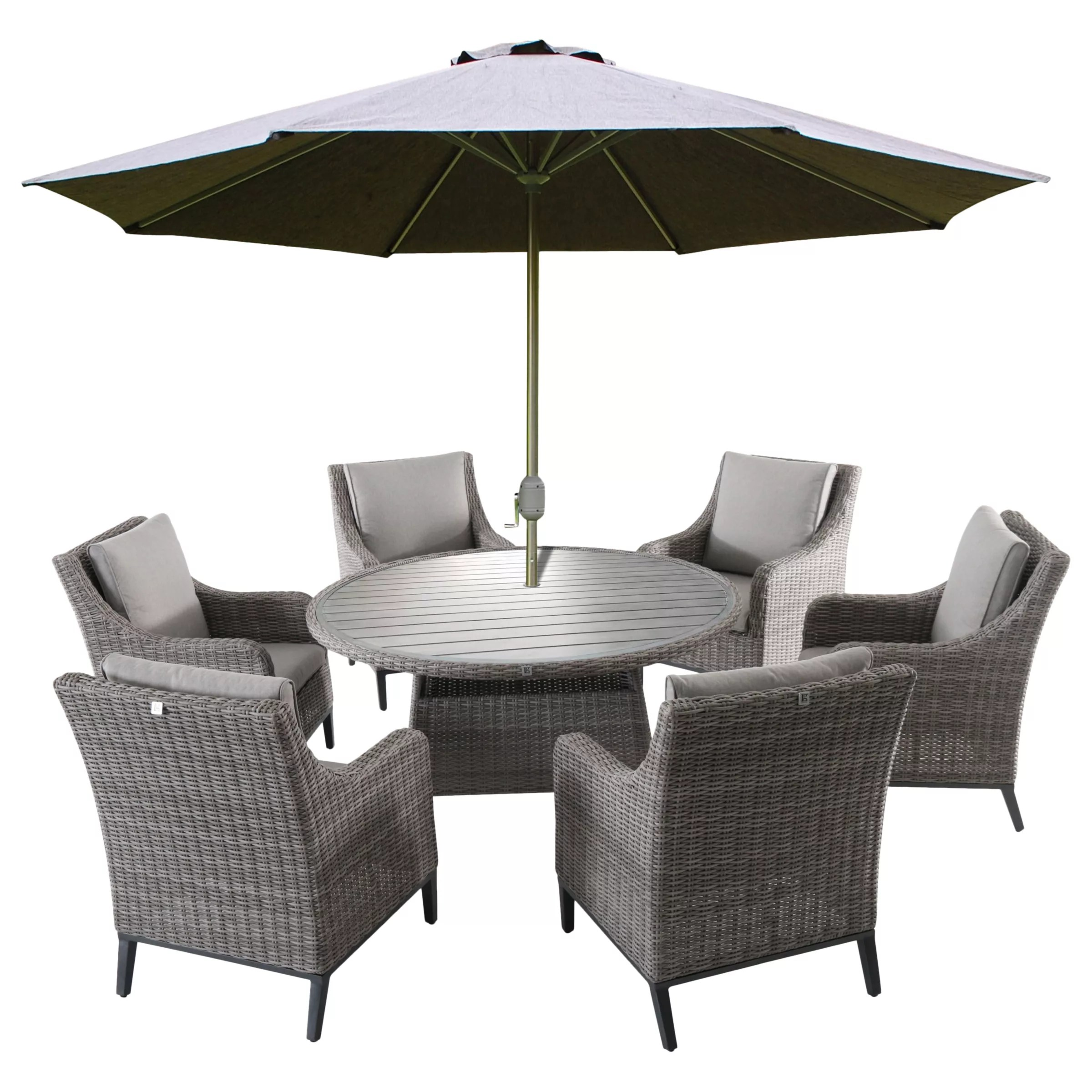copenhagen dining chairs shower chair bed bath and beyond lg outdoor 6 seater garden table