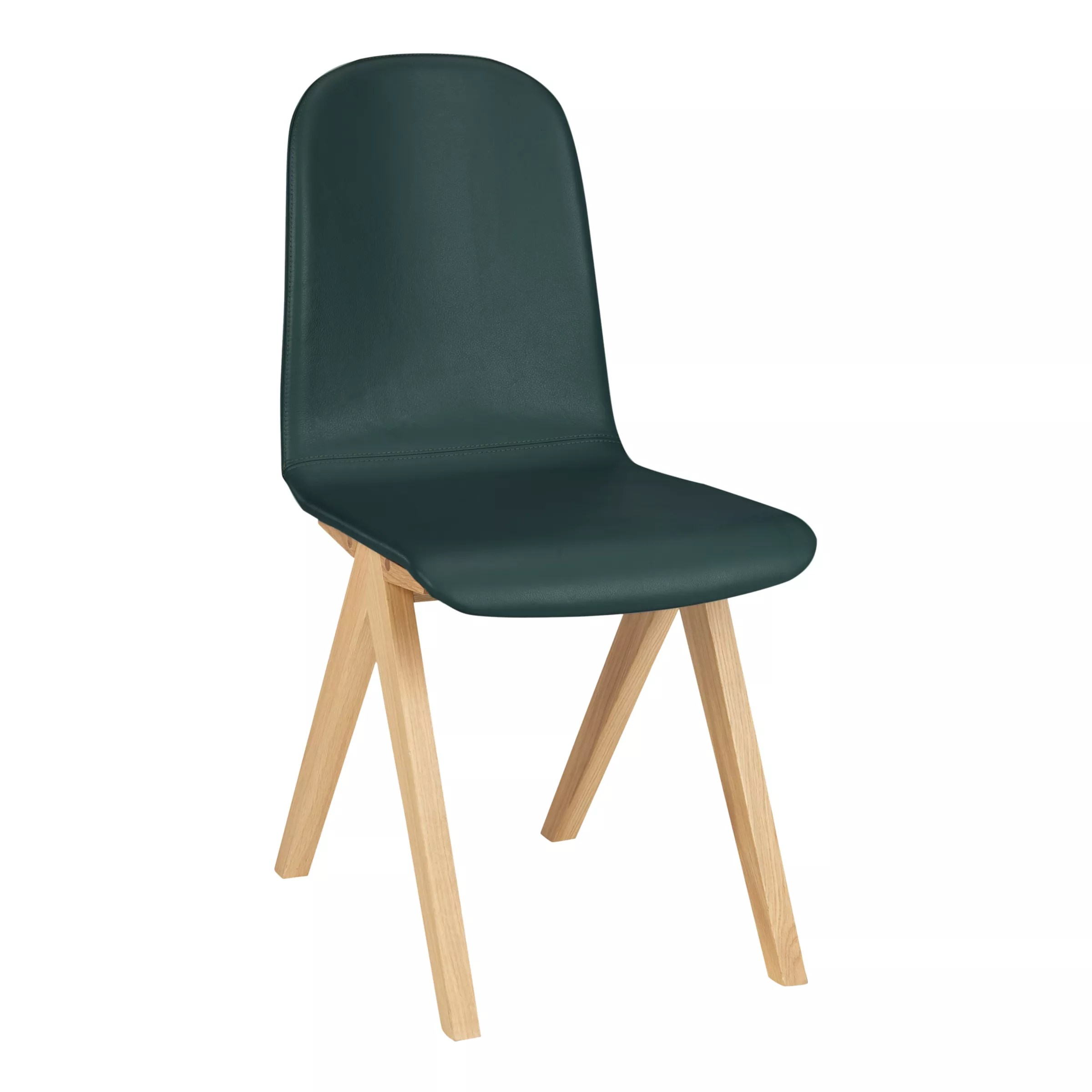 Green Upholstered Chair Bethan Gray For John Lewis Newman Leather Upholstered Dining Chair