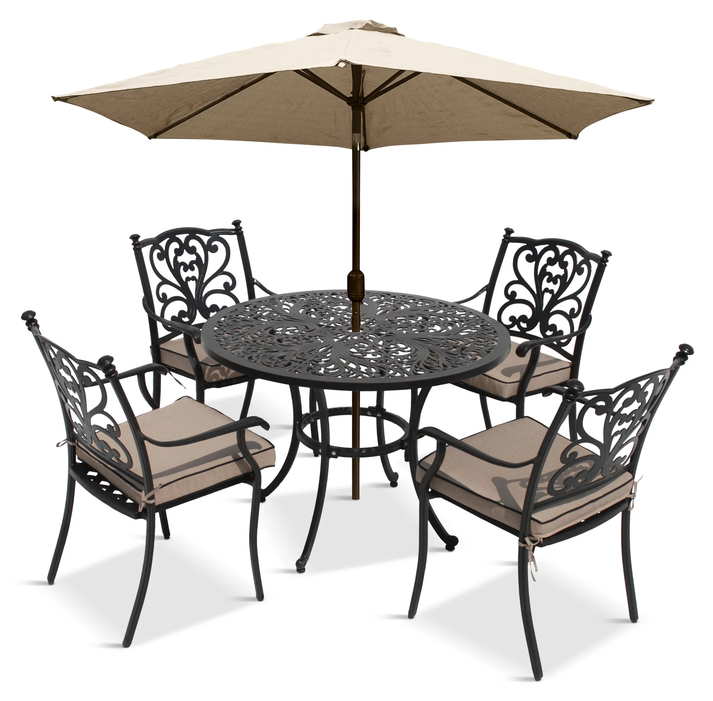 Outdoor Table And Chair Set Lg Outdoor Devon 4 Seater Garden Dining Table And Chairs Set With