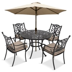 4 Seater Outdoor Table And Chairs Hanging Kids Chair Lg Devon Garden Dining