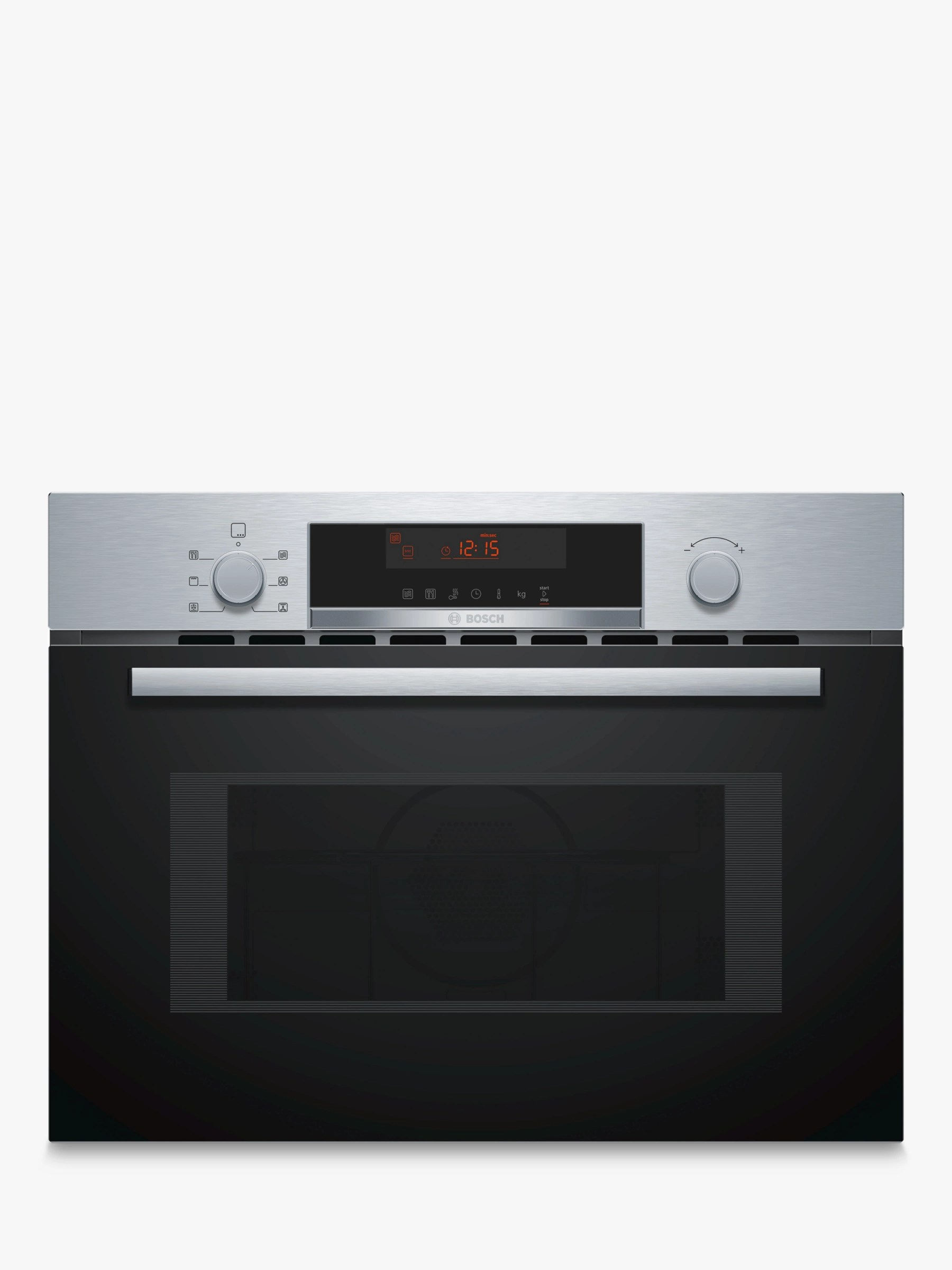 hight resolution of bosch cma583ms0b built in microwave with grill stainless steel at john lewis partners