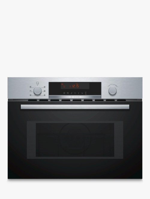 small resolution of bosch cma583ms0b built in microwave with grill stainless steel at john lewis partners