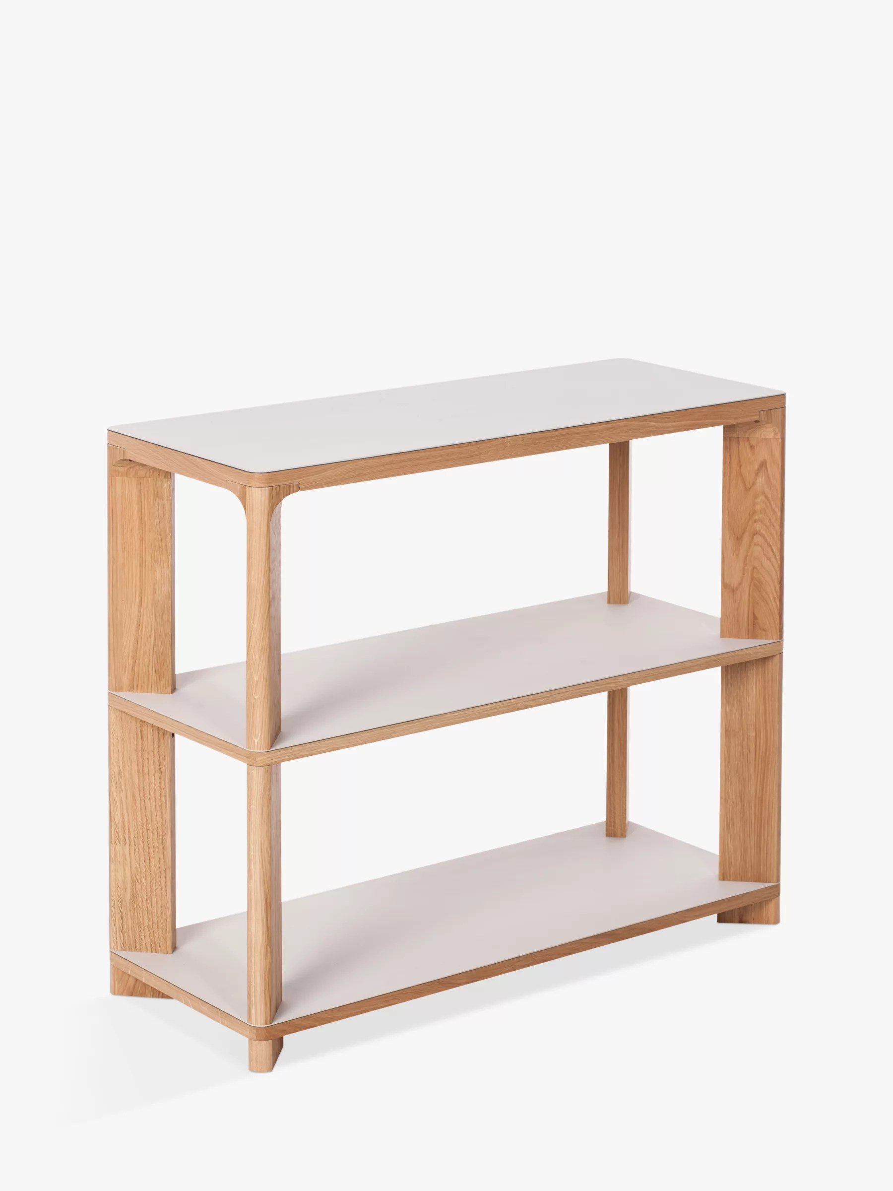 kitchen console table mobile cart oak glass tables john lewis partners another brand lastra mushroom