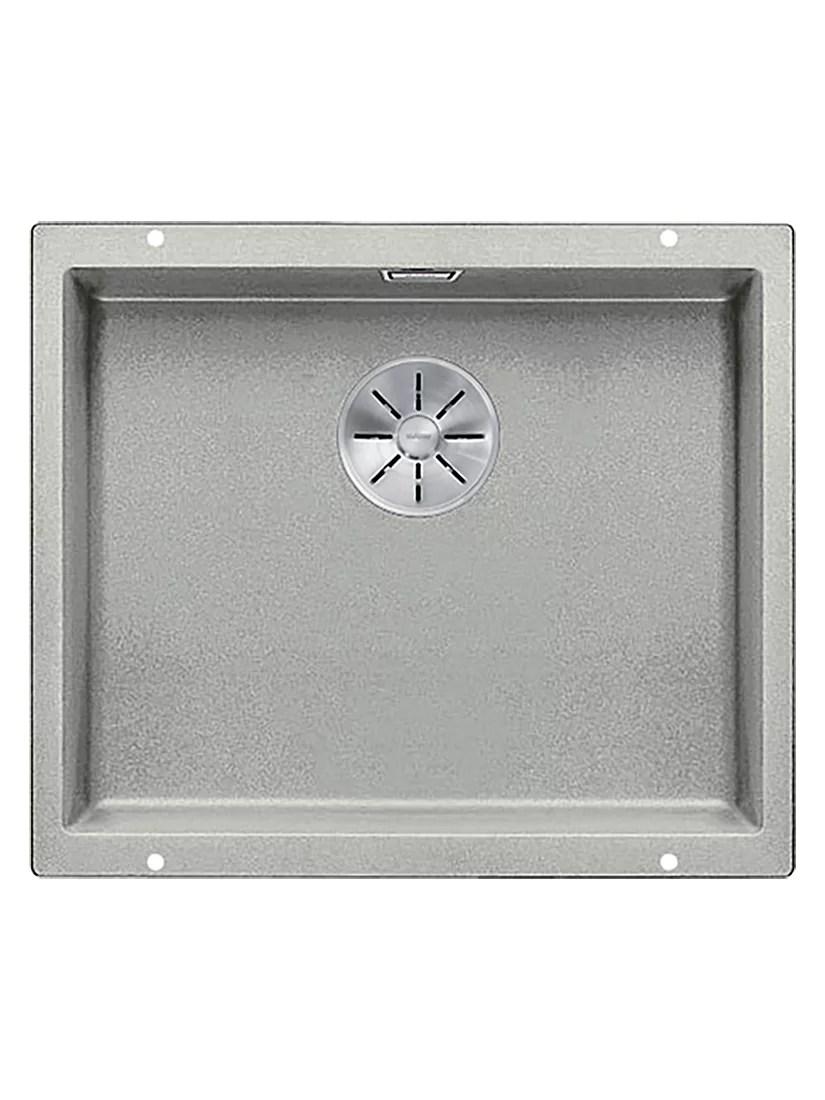 blanco kitchen sink ikea shaker cabinets sinks john lewis partners subline 500 u single bowl undermounted composite granite