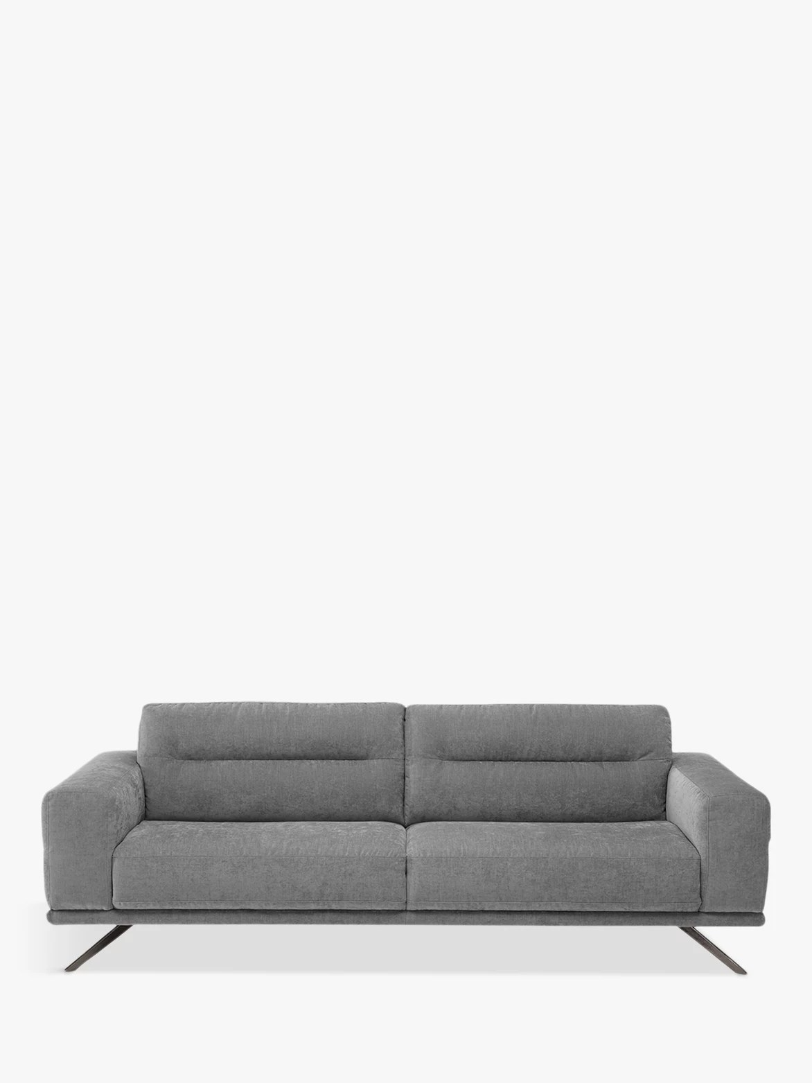 3 seater fabric sofa adrian pearsall value natuzzi timido 009 large chrome leg at john buynatuzzi mistral agave online