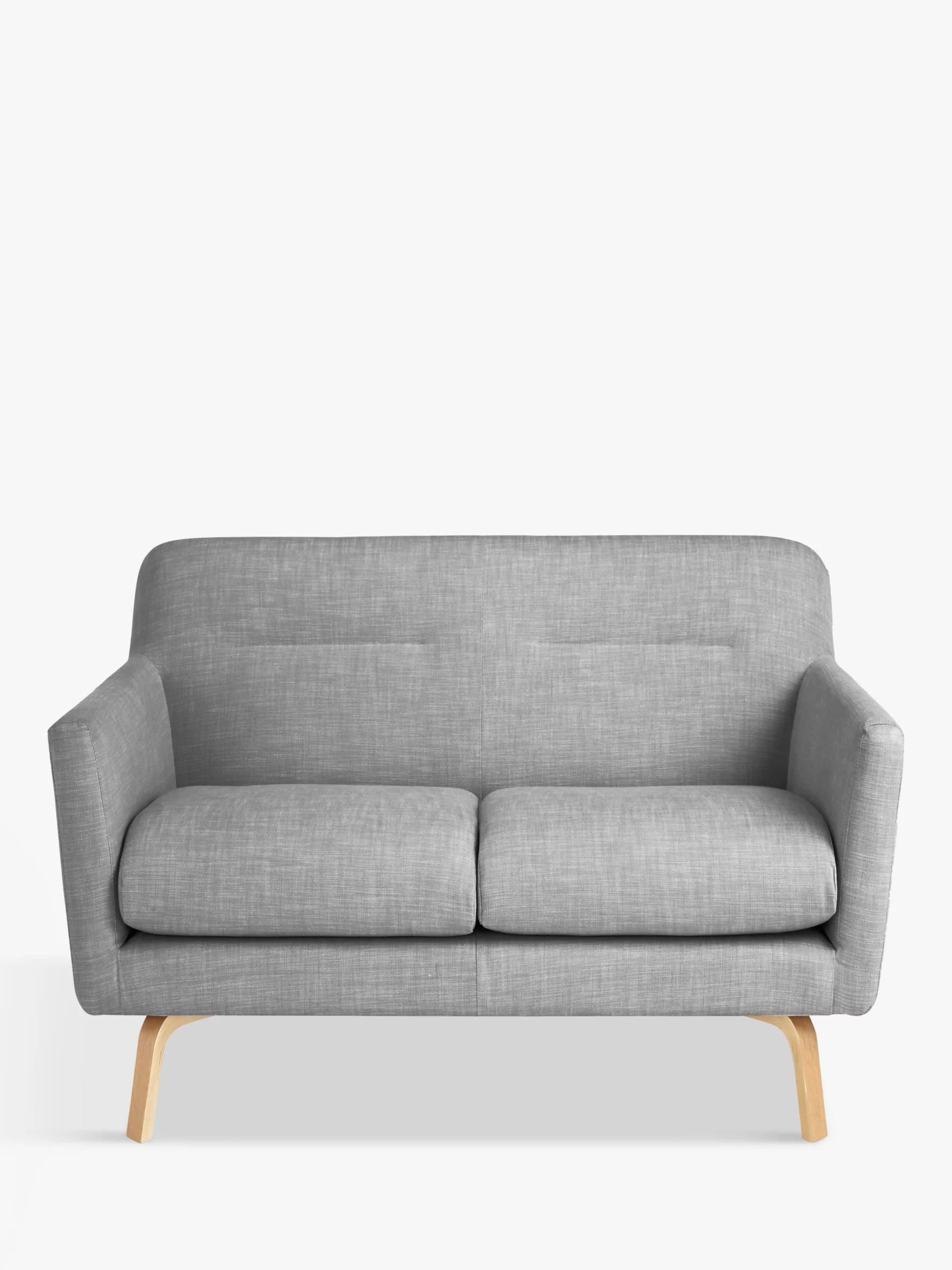 small 2 seater sofa drexel reviews house by john lewis archie ii saga grey at buyhouse online johnlewis