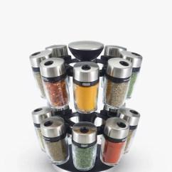 Kitchen Spice Rack Houzz Outdoor Kitchens Racks And Jars Storage John Lewis Partners Cole Mason 16 Jar Filled Carousel