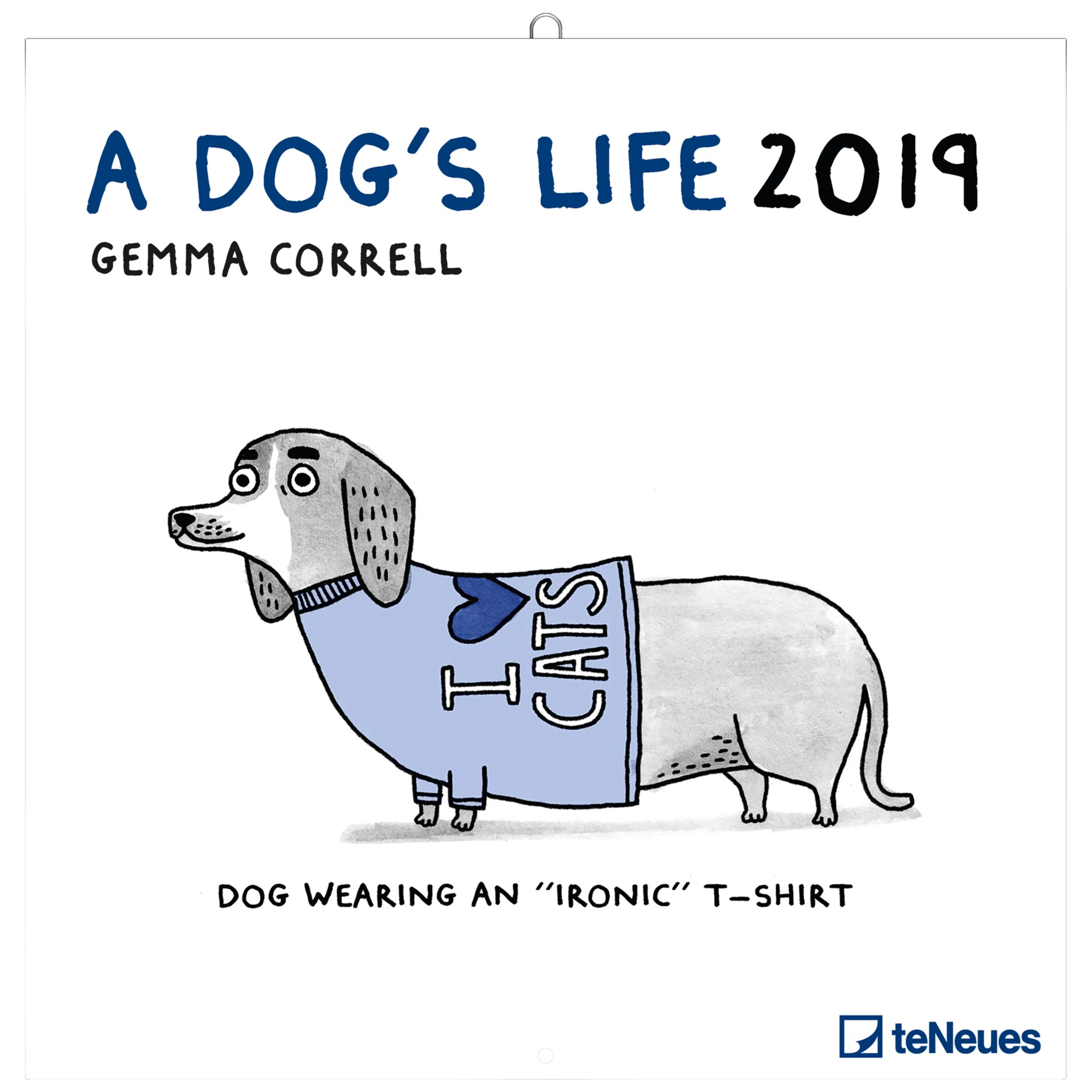 buyteneues gemma correll dogs life square 2019 calendar online at johnlewis com [ 1440 x 1920 Pixel ]