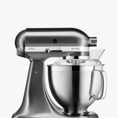 Kitchen Aid Mixers Appliance Package Deals Kitchenaid Food John Lewis Partners 5ksm185psb 4 8l Artisan Stand Mixer