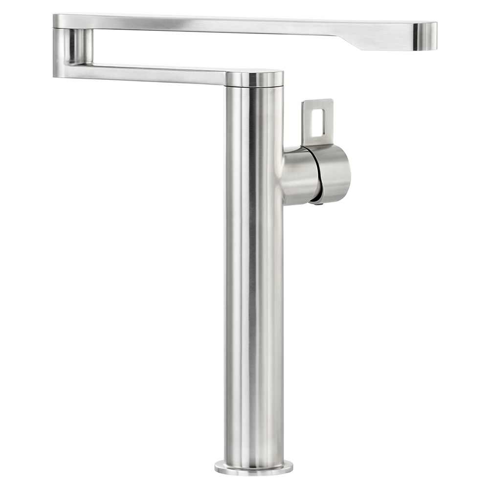 kitchen tap how much is it to remodel a small taps diy home garden john lewis partners abode axial single lever pot filler monobloc stainless steel