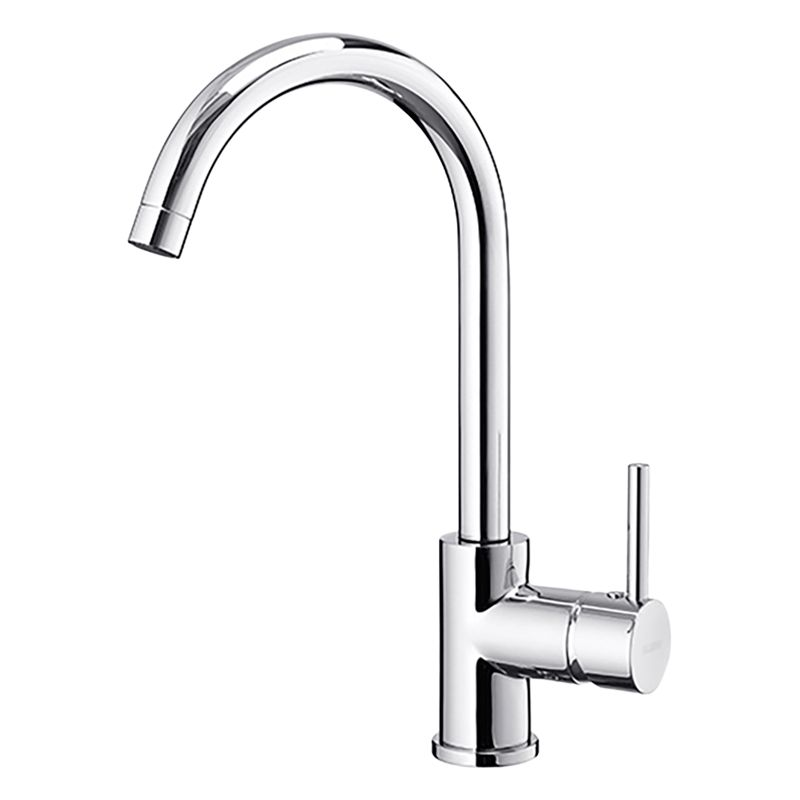 kitchen taps kitchens in new homes blanco john lewis partners envoy single lever monobloc mixer tap