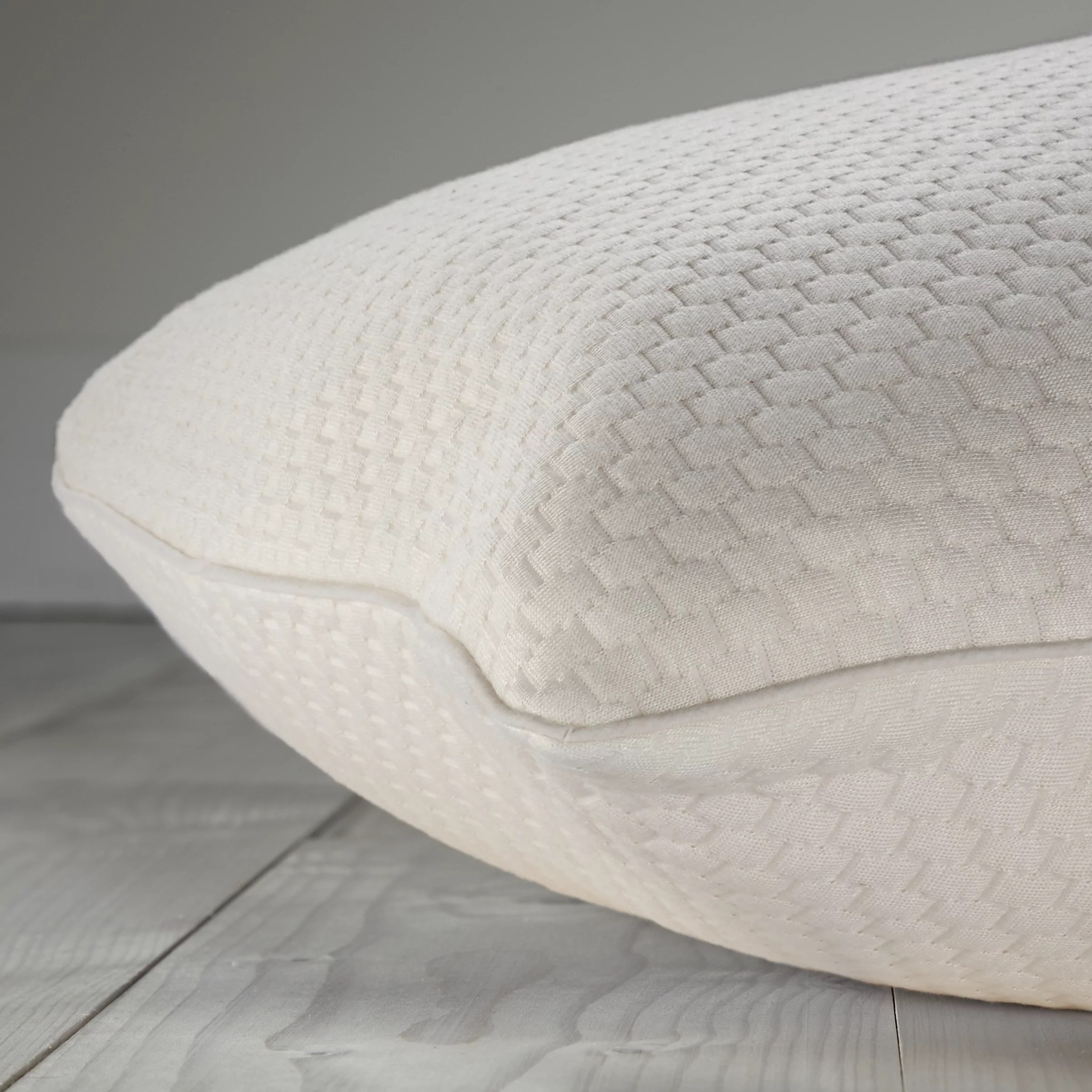 john lewis partners specialist synthetic cluster memory foam standard support pillow firm
