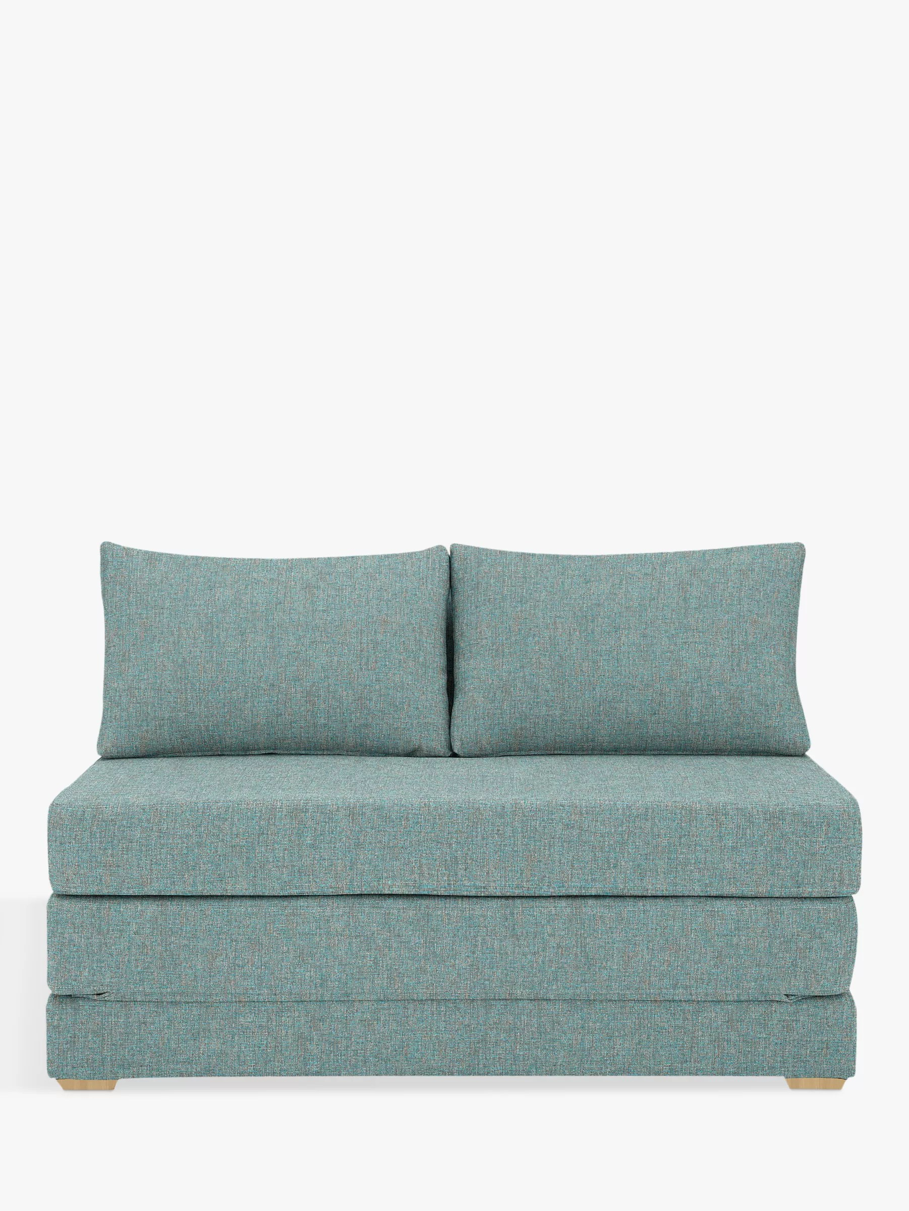 bed and sofa warehouse leeds plastic triangle legs sofas beds john lewis partners house by kip small double light leg riley teal