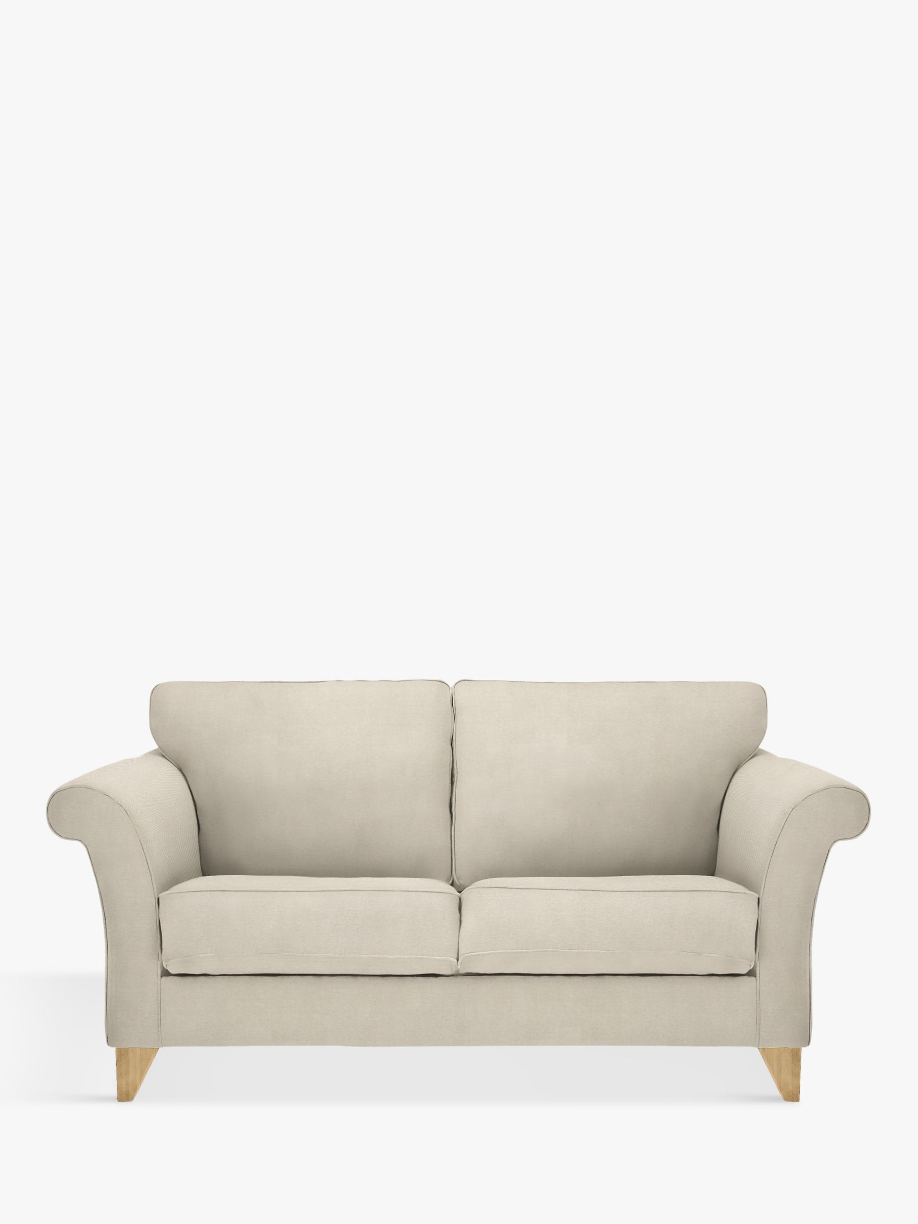 pink sofa browse uk bed ebay singapore 2 seater sofas beds john lewis partners charlotte medium light leg edie grey