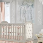 Pottery Barn Kids Monique Lhuillier Tulle Butterfly Crib Skirt Blush Pink At John Lewis Partners