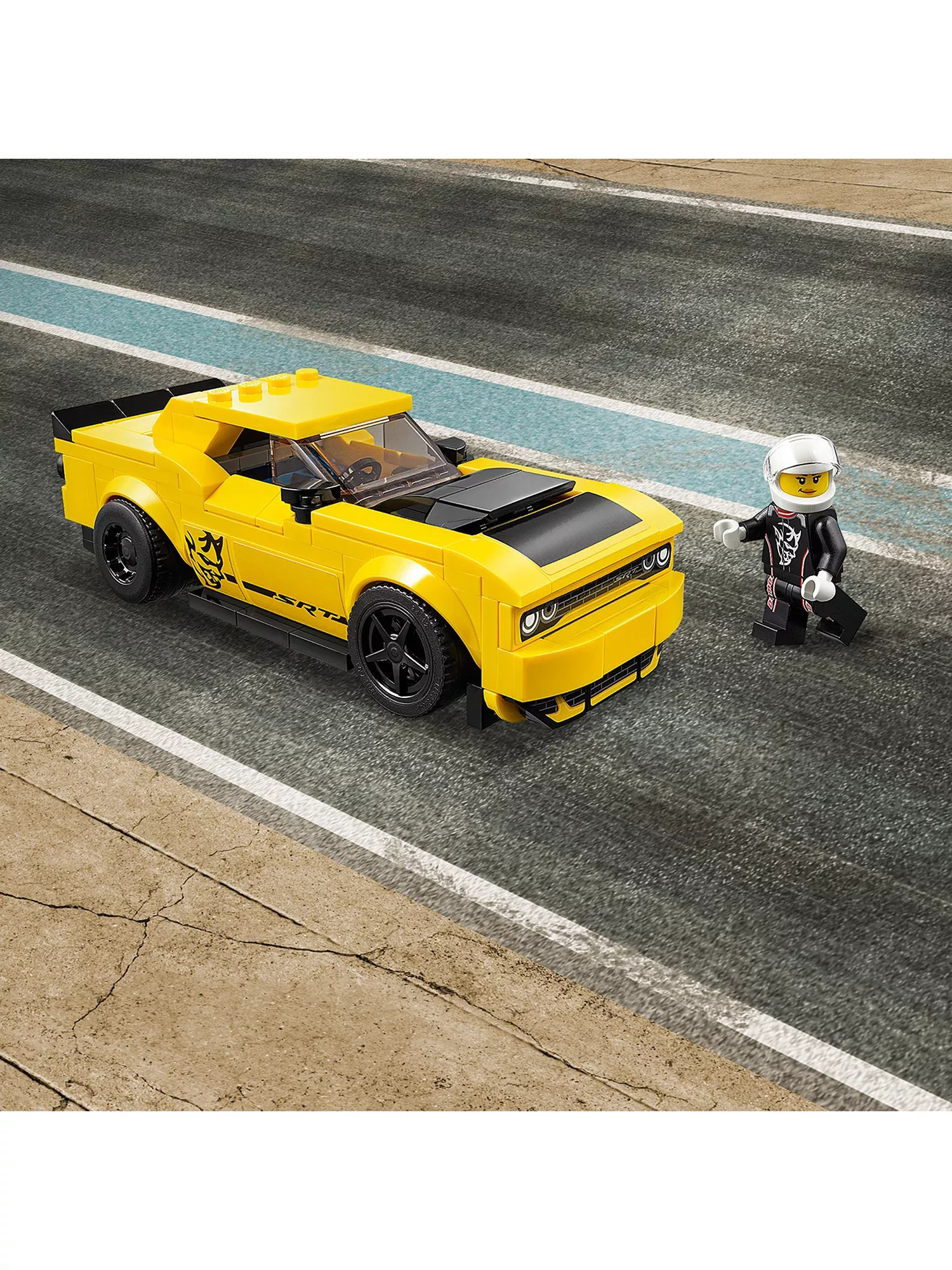 medium resolution of  buy lego speed champions 75893 2018 dodge challenger srt demon and 1970 dodge charger r