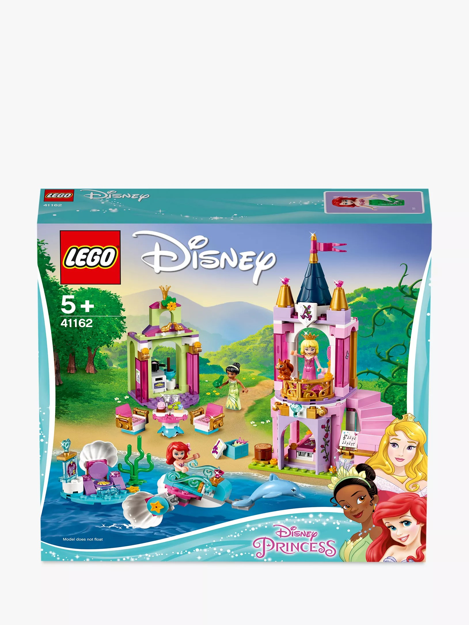 Lego Disney Princess 41162 Ariel Aurora And Tiana S Royal