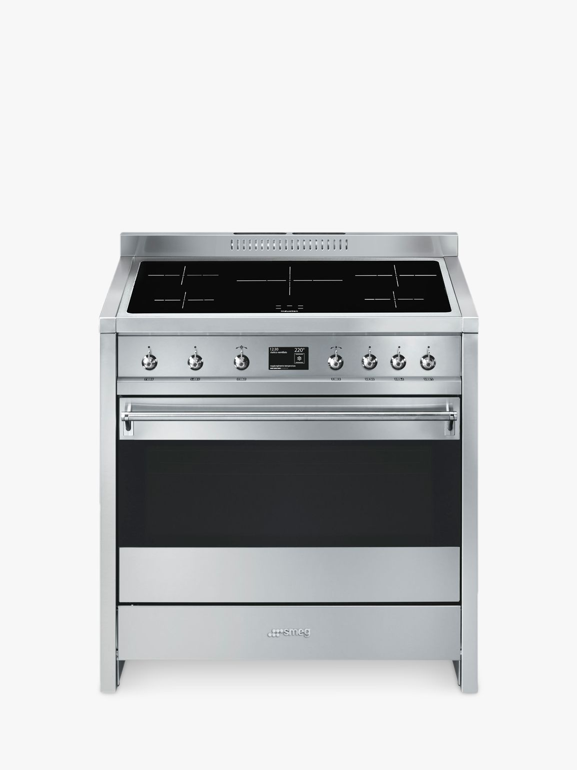 buysmeg a1pyid 9 90cm electric single oven cooker a energy rating stainless steel  [ 1440 x 1920 Pixel ]