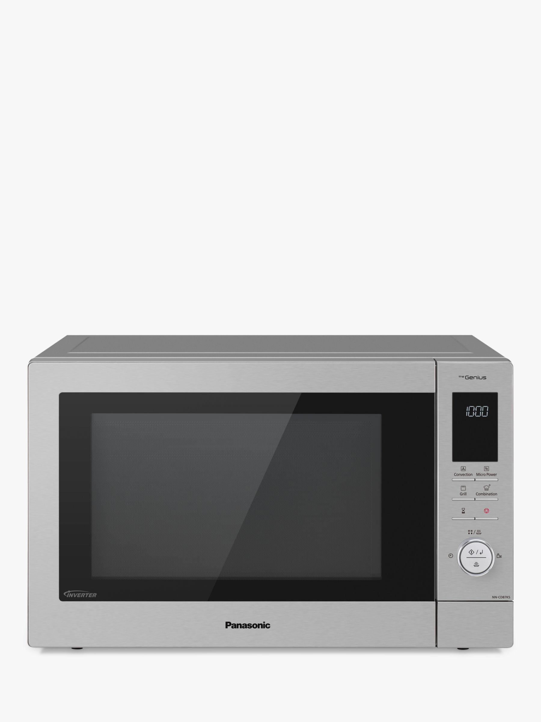 panasonic nn cd87ksbpq 34l slimline combination microwave oven stainless steel