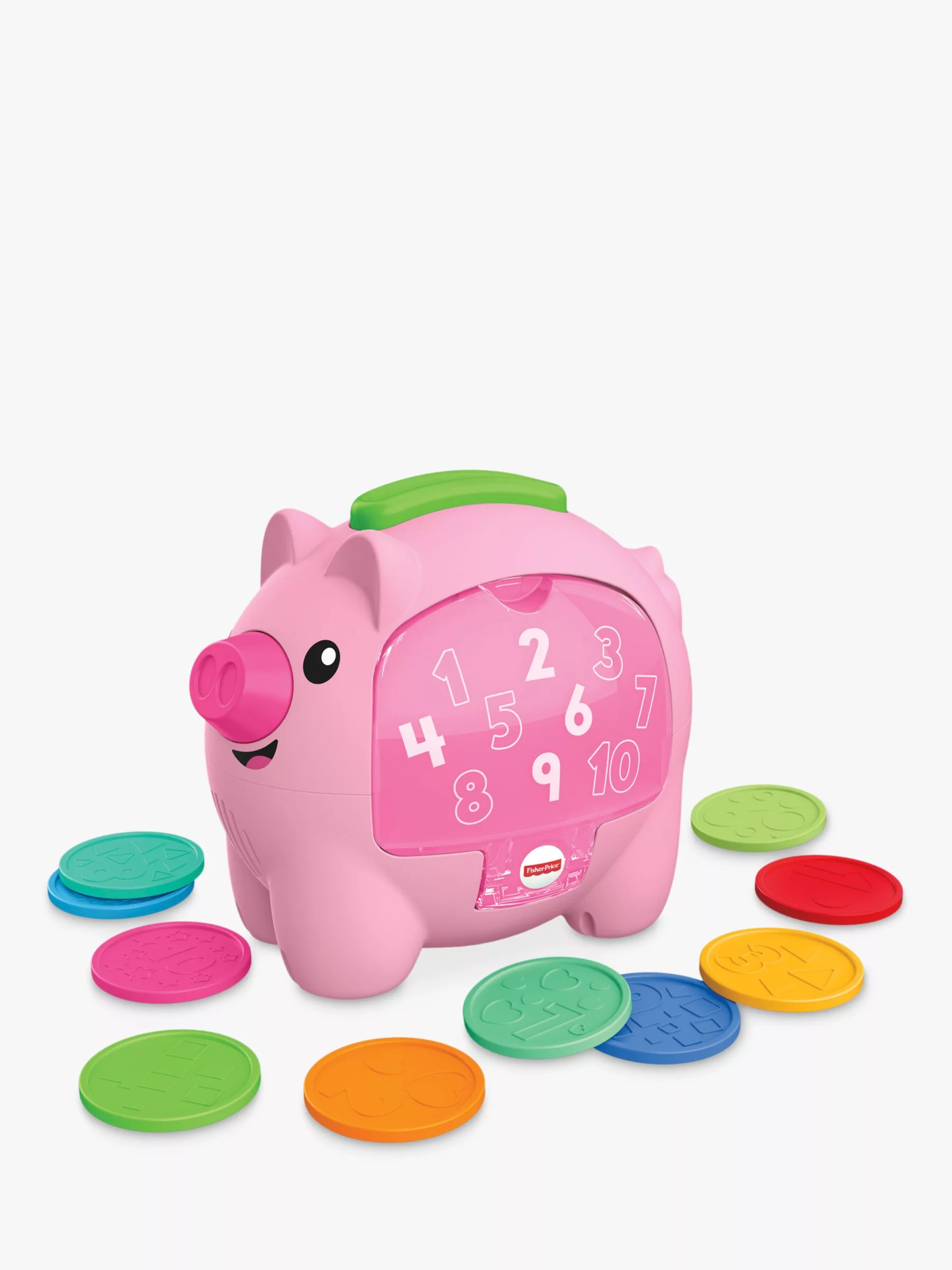 Fisher Price Laugh And Learn Rumble Piggy Bank At John Lewis Partners
