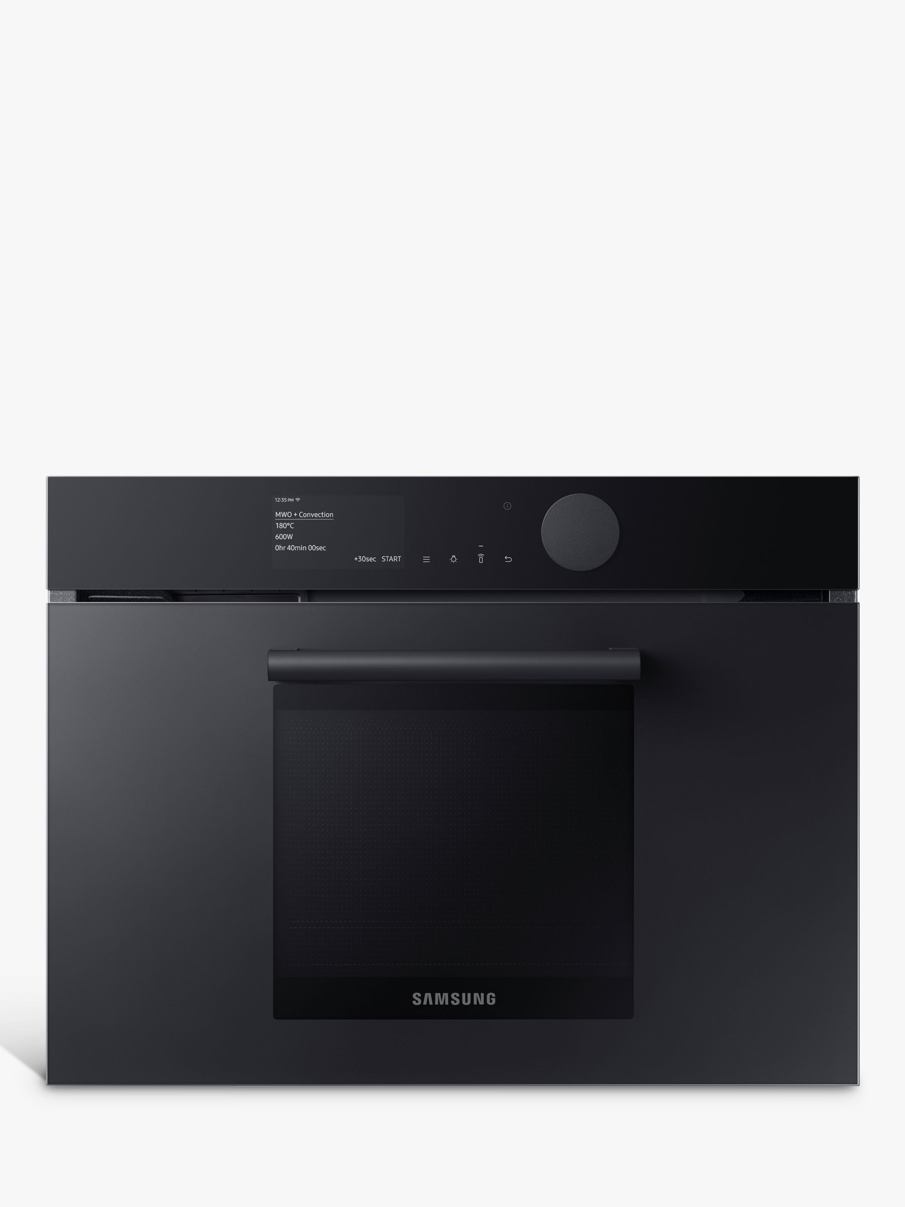 samsung infinite nq50t9539bd built in combination microwave oven graphite grey