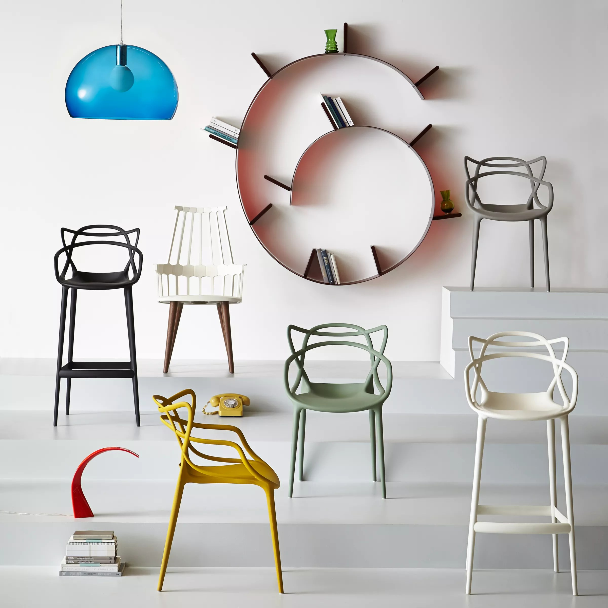 design chair kartell chairs for cheap philippe starck masters bar at john lewis