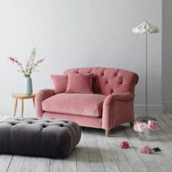 Bedroom Chair Pink Velvet Desk With Footrest Crumble Snuggler By Loaf At John Lewis