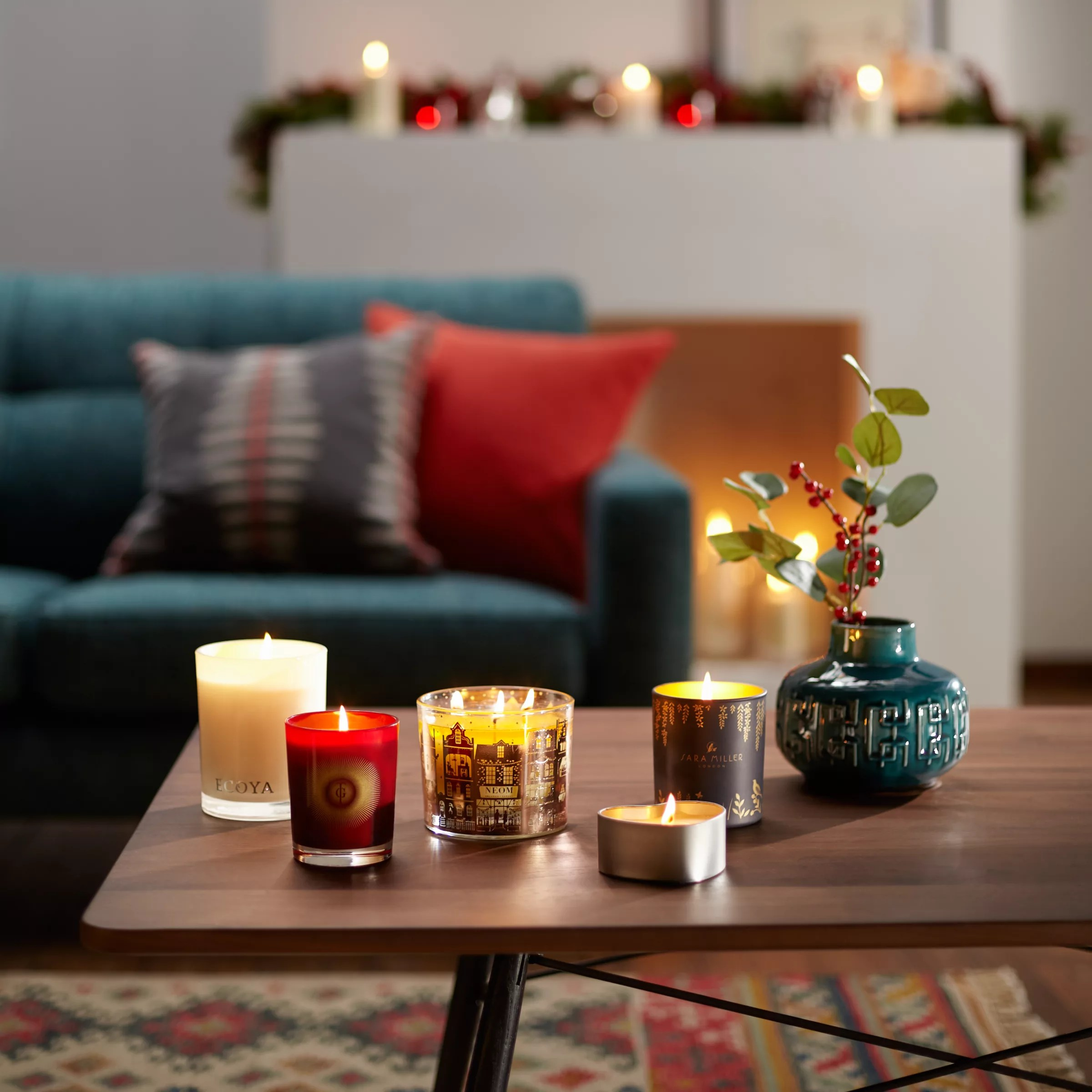 Sara Miller Patchouli Cedar And Thyme Scented Candle