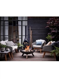 Mors Kamino Outdoor Chiminea Fireplace at John Lewis ...