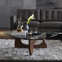 Vitra Noguchi Coffee Table | Walnut at John Lewis