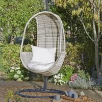 Buy John Lewis Dante Pod Hanging Chair | John Lewis