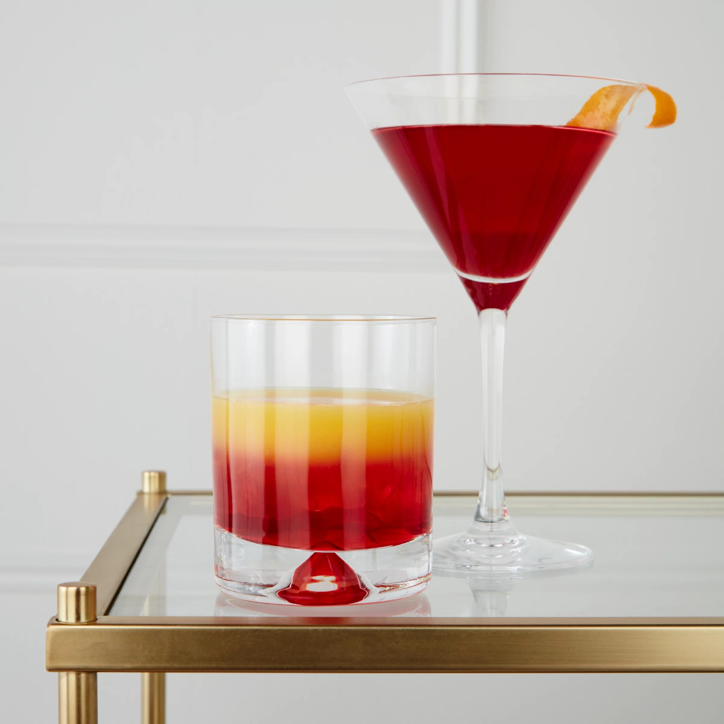 John Lewis & Partners Cocktail Cosmopolitan Glasses Set