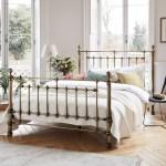 John Lewis Partners Banbury Bed Frame Double Antique Brass At John Lewis Partners