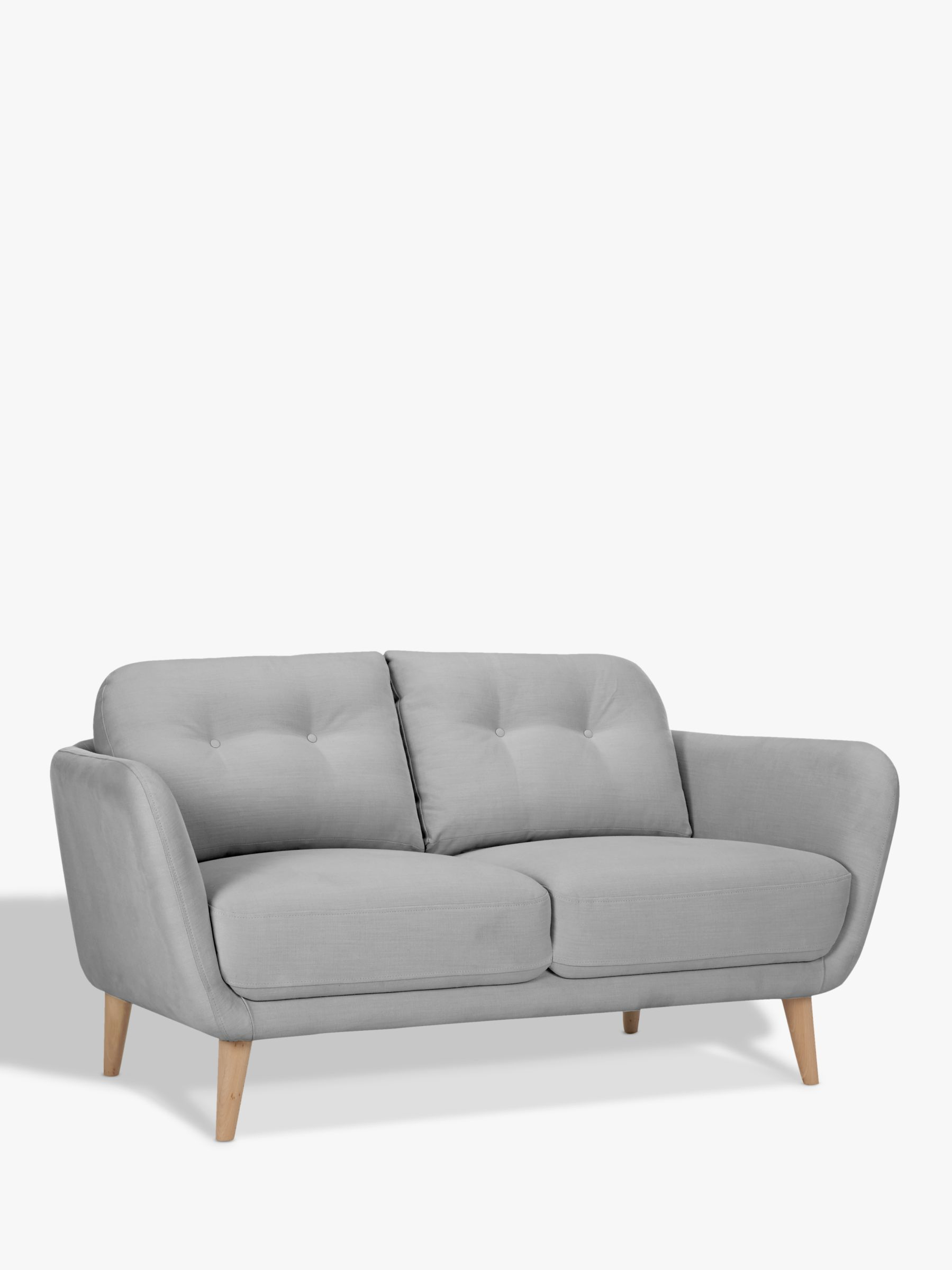 sofas for small es ottoman sofa bed double house by john lewis arlo 2 seater light leg at buyhouse online johnlewis
