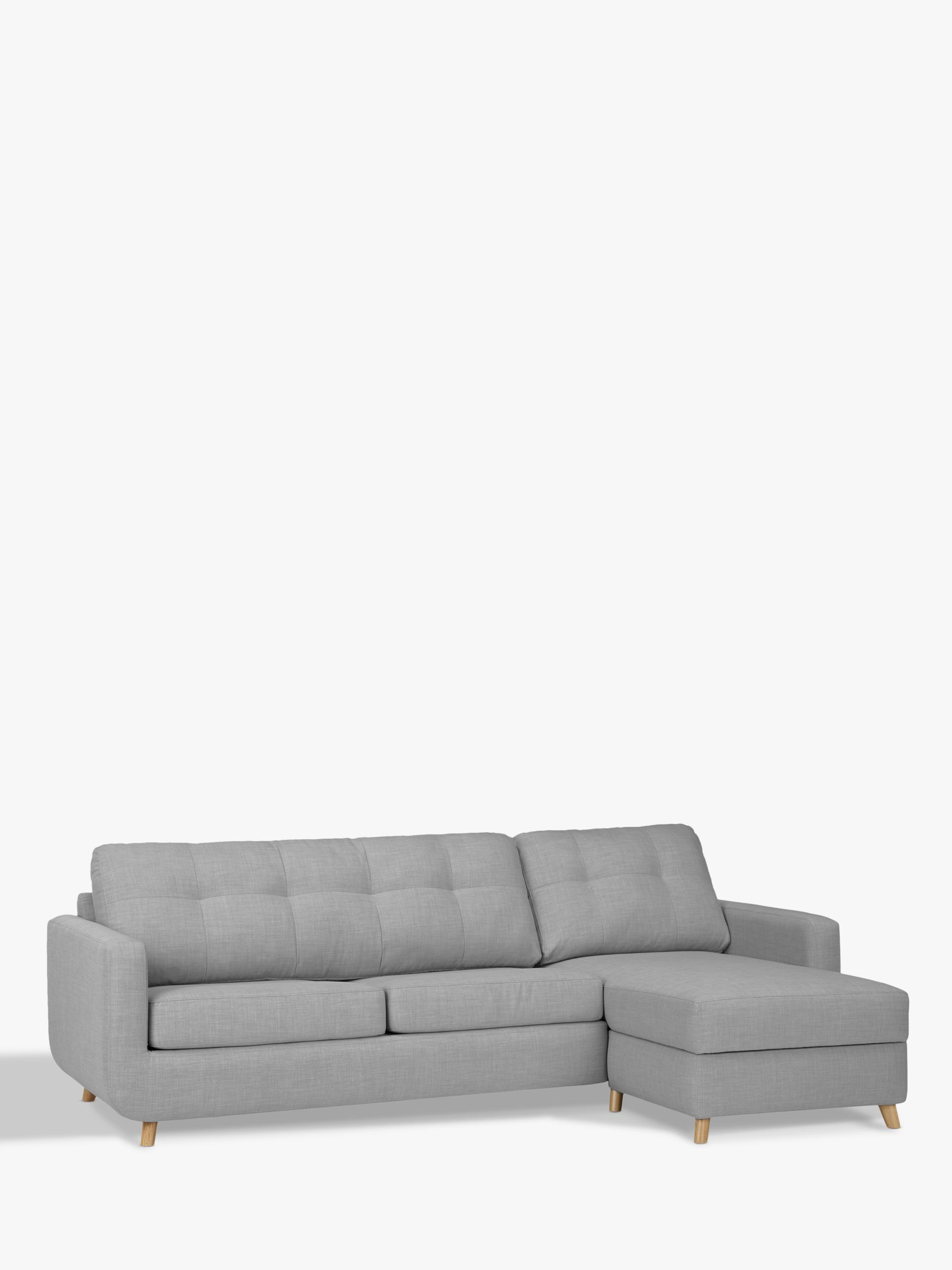 victoria clic clac sofa bed review 3 seater covers online india beds settees john lewis partners barbican rhf chaise with storage