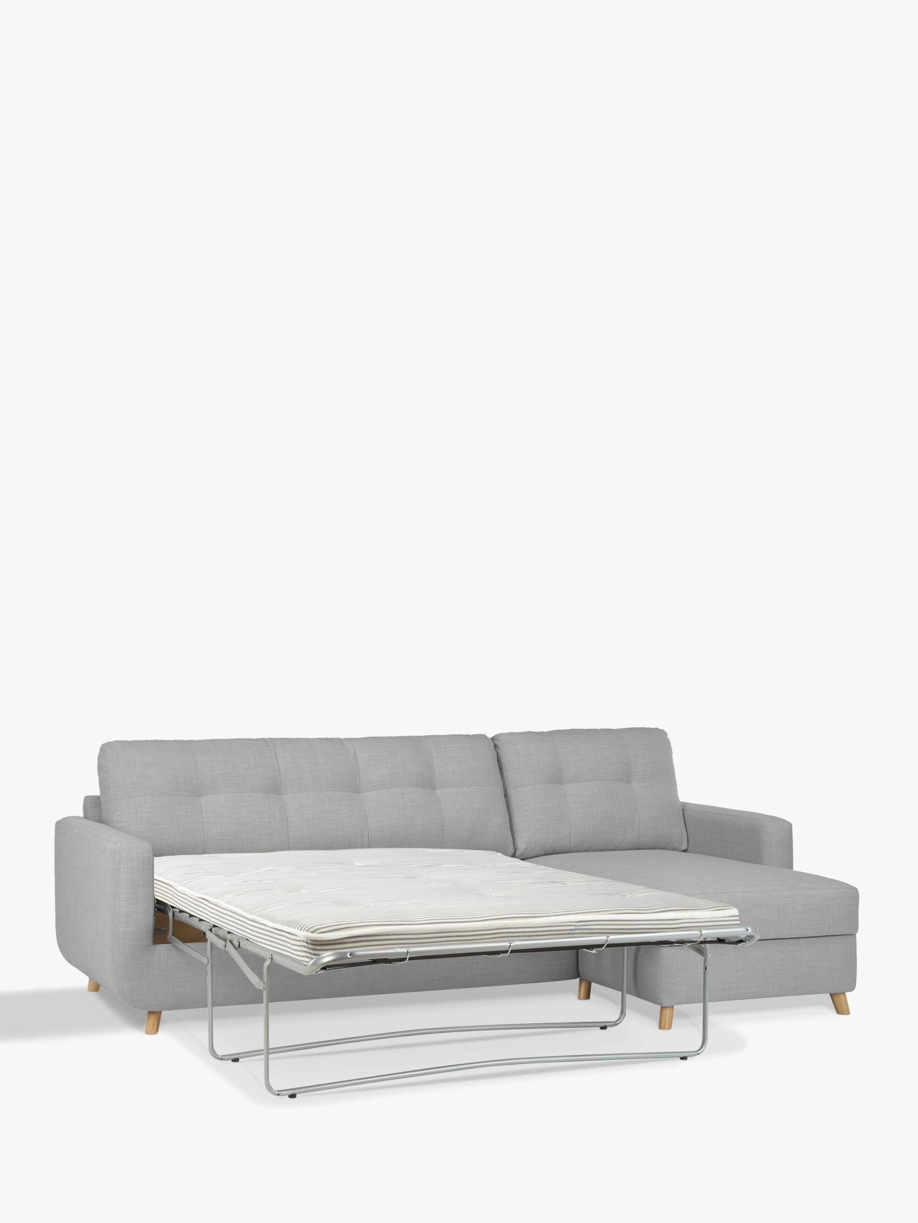 leather sofa bed with sprung mattress carrara corner chaise furniture village sleeper storage ultimate sectional