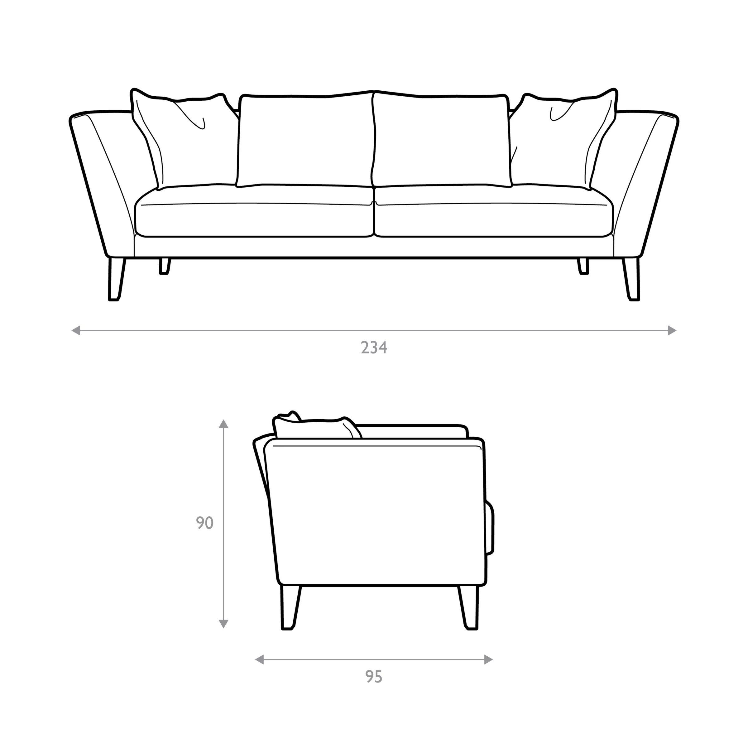 regency sofa john lewis single seater designs grand escher smoke at partners buyjohn online johnlewis com