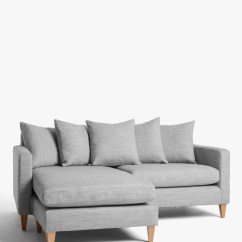Large Square Corner Sofa Wooden Furniture Set Online Sofas Settees John Lewis Partners Bailey Scatter Back Lhf Chaise End