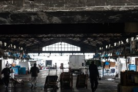 Tsukiji - one of the many sheds