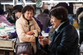 Tsukiji - striking a deal