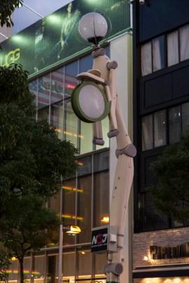 Robot like streetlight