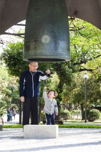 Ringing the Peace Bell