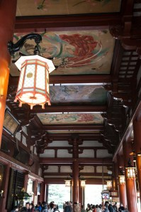 Sensoji Temple - ceiling paintings